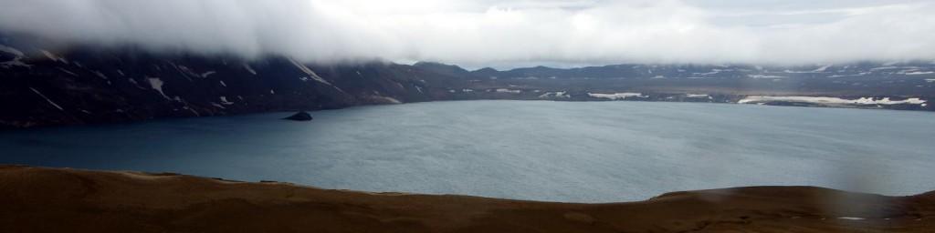 Öskjuvatn - so heißt der Kratersee der Askja.